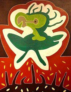 Julio Zachrisson Grinch, Printmaking, Artists