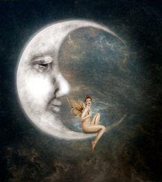 The Man in the Moon by JinxMim.deviantart.com on @DeviantArt