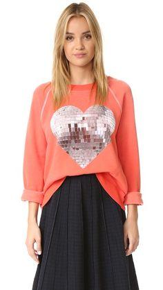 Wildfox My Disco Heart Sweatshirt   SHOPBOP