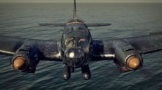 HE 111 with two torpedoes by Peter Larry