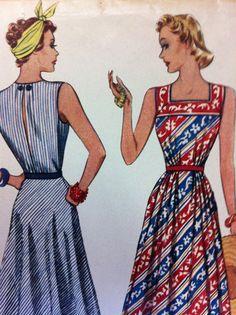 Vintage Pattern  1930s  McCall  Dress Pattern  New by dizzbrain, $18.00
