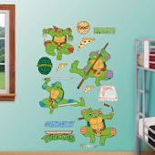 Show TMNT Wall Decals and Stickers! Teenage Mutant Ninja Turtle wall decor featuring Raphael, Donatello, Leonardo, and Michaelangelo