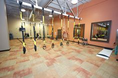 TRX  Is it just us or is this itself motivation for a fitness filled Wednesday.  Check out our TRX at www.studio16onalaska.com or come on by!