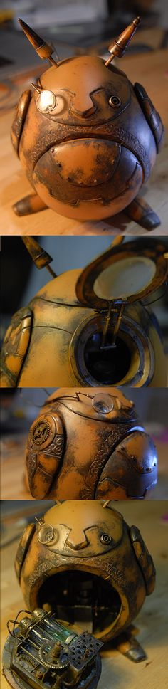 Steampunk TOTORO,my diy toy