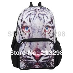 Find More Casual Daypacks Information about 2014 outdoor backpack bags, knapsack for teenage, unisex White Tiger animal Printing, iPad, iPhone pocket, BBP110 free shipping,High Quality bag 600d,China bags under the eyes Suppliers, Cheap bag for tablet pc from Culture Clubs on Aliexpress.com