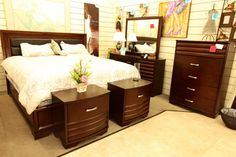 "Najarian""Daytona"" Eastern King Bedroom Set - Colleen's Classic Consignment, Las Vegas, NV www.colleenconsign.com"