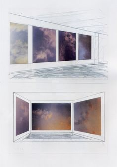 image not avaialable Gerhard Richter, Maggie Taylor, Modern Drawing, Sky Sea, Photorealism, Contemporary Photography, Pictures To Draw, Les Oeuvres, Modern Architecture