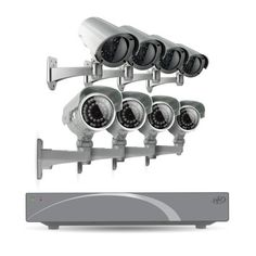 SVAT 8CH Smart Security DVR with 4 Super Resolution Outdoor 100ft Night Vision Security Cameras with IR Cut Filter 500 GB HDD iPhone, Android, Blackberry, iPad, PC & Mac compatible (11030) - Bonus 4 Pack of Imitation Cameras Included by SVAT. $489.99. Extremely Easy to Set Up and UseThis SVAT system functions just like a computer, with a mouse and an intuitive icon-based menu that provides prompts and coaching to assist you in navigating the system. It's even so si...