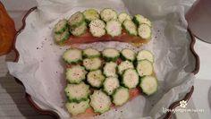 Salmone in crosta di zucchine: ricetta del salmone con zucchine