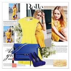 Yellow by jeehy on Polyvore featuring moda, Karen Millen, Marni, Charlotte Russe and New Growth Designs