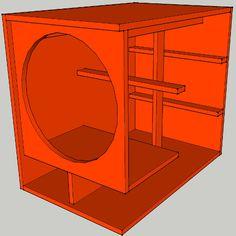 site build for acoustic fanatics Speaker Box Diy, Custom Speaker Boxes, Speaker Plans, Speaker Box Design, Diy Speakers, 15 Inch Subwoofer Box, Subwoofer Box Design, Audio Box, Woofer Speaker