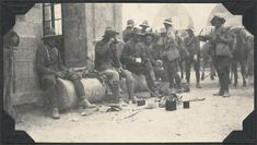 December 21, 1917 - Battle of Jaffa Pictured - The Wellington Mounted Rifles put their feet up after capturing Jaffa. By the solstice Allenby's Egyptian Expeditoinary Force had conquered Jerusalem and...