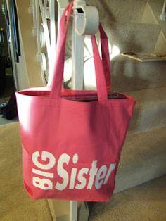 Big Sister Gift Idea Kit Lil Sis Sibling Gifts