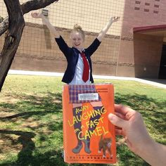 Yes!!! It's #bookfacefriday AND school's out for the summer!! Win-win :) #bookface #cplbookface