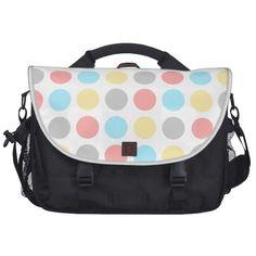 Colorful Dots Bag Laptop Computer Bag