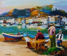 Presentation in the form of a slideshow of the work of the Marseilles painter Christian Jequel : Painter of seascape Art Assignments, European Art, Art Painting, Italy Art, Oil Painting Landscape, Marine Art, Painting, Beautiful Paintings, Mediterranean Paintings