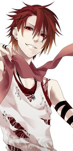 Red-haired #anime guy.