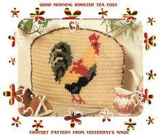 crochet rooster free patterns | CROCHET PATTERN Chicken Cockerel Rooster Tea Cosy | eBay