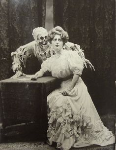 "Morbid Anatomy: ""Death and the Lady,"" Vaudeville, Turn of the Century"