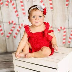 852bdd3496c Newborn Baby Girls Lace Romper