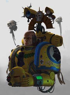 Warhammer Paint, Warhammer 40k Art, Wonder Woman Fan Art, Imperial Fist, Morning Cartoon, Game Workshop, Geek Art, Space Marine, Deviantart