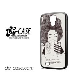 Wormbook Quote For Samsung Galaxy S4 Case Phone Case Gift Present YO