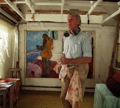 BBC  Sargy Mann:  How a blind painter sees