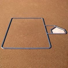 Line your Batter's Box with ease with the Adjustable Batter's Box Template from M. Template allows you to adjust the distance from home place to maintain regulation specifications. Baseball Batter, Baseball Field, Softball, Distance, Templates, Box, Sports, Fastpitch Softball, Hs Sports
