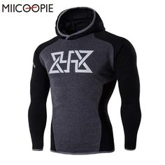 2017 New Fitted Body Building Hoodie