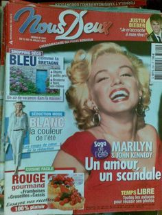 MARILYN MONROE cover FRENCH FRANCE FULL magazine FREE SHIPPING 2011 | eBay