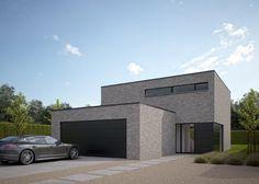 Moderne Villa bouwen van een ééngezinswoning