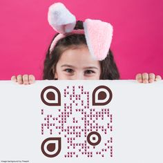 #qrcodedesign Web Application, Easter Bunny, Acting, Free, Image, Design