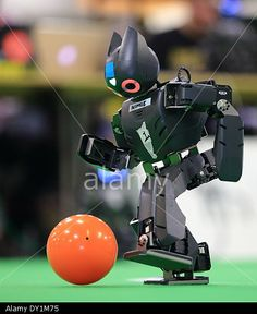 Magdeburg, Germany. 03rd Apr, 2014. 'RoboCup German Open 2014' Credit: Jens Wolf/dpa/Alamy Live News