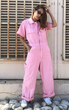 8d86f480fe59 Vintage M L zip up coveralls short sleeves mechanic jumpsuit flightsuit  flight suit workwear work