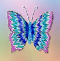 Butterfly with Tinta & Perga Colour Exclusive