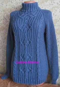 Свитер `Синий туман ` Sweaters, Fashion, Moda, La Mode, Sweater, Fasion, Fashion Models, Trendy Fashion