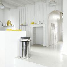 Touch Bin, 60L - Brilliant Steel - Touch Bin, 50-60 litres - Touch Bin - Poubelles et corbeilles à papier | Brabantia