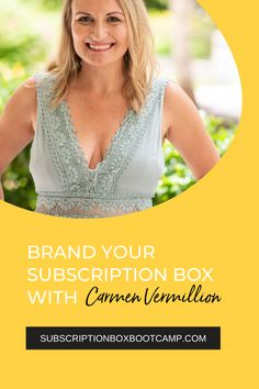 Julie chats with her business bestie and good friend Carmen Vermillion to talk about branding. Branding is such an important topic because good branding can help your subscription box, not only stand out from the rest, but also attract your ideal target audience. Complete Plan for Subscription Box, Subscription Boxes Ideas, Business Plan, Female Entrepreneur Tips, Subscription Boxes for women, Subscription Box Bootcamp, How to start subscription box business!#subscriptionbox #businessplan