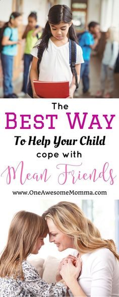 How to Teach Your Child to Read - As a parent, one of our worries is when someone is mean to your child. Learn the best way to help your child deal with mean friends. | how to deal with mean friends | how to deal with mean people | how to deal with mean girls at school | how to deal with mean girls tips | life lessons for kids | advice for kids | mean kids how to deal | mean kids | how to deal with bullies | how to deal with bullies kids | dealing with bullies | dealing with bullying |...