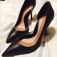 Sexy Black Zara Heels  Sexy Black Zara Heels. Tags still attached. No Trades Size 39 but a size 8 in US size Zara Shoes Heels