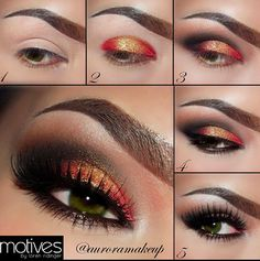 #makeup Eye shadows to fit the mood