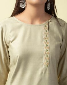 Churidhar Neck Designs, Neck Designs For Suits, Neckline Designs, Dress Neck Designs, Simple Kurta Designs, Kurta Designs Women, Long Kurta Designs, Salwar Suit Neck Designs, Kurta Neck Design