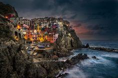 Manarola at Sunrise, Cinque Terre, Italy by William Toti on 500px
