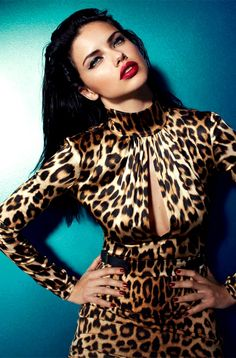 Adriana Lima for Blumarine. She is so effing gorgeous i just can't.