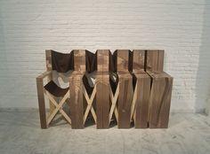 有玄機的摺疊收納椅 | MyDesy 淘靈感