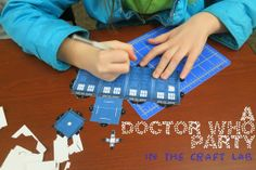 Craft Lab: Dr. Who party! : library makers
