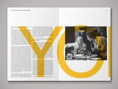 Ideas Design Editorial Magazine Texts For 2019 Text Layout, Brochure Layout, Print Layout, Booklet Layout, Layout Book, Corporate Brochure, Corporate Design, Brochure Template, Page Layout Design