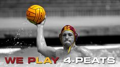 WE PLAY 4-Peats. The USC Men's Water Polo team has won the NCAA National Championship every year since 2008, and looks forward to more success this fall.