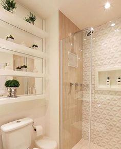 Revestimento lindo para banheiro.