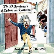 Hilarious tale of Beethoven's frequent habit of moving from place to place.